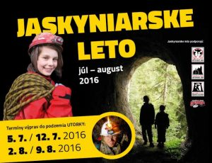 Jaskyniarske leto 2016