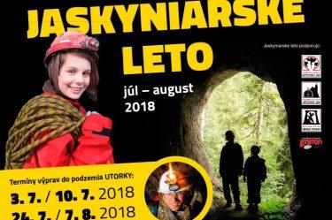 JASKYNIARSKE LETO júl – august 2018